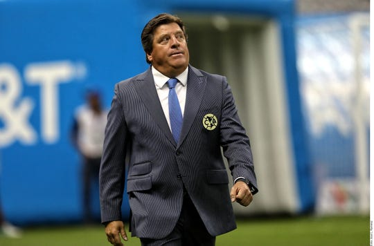 Miguel 'Piojo' Herrera, D.T. del América.