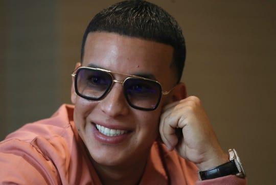 El cantante y empresario puertorriqueño, Daddy Yankee.