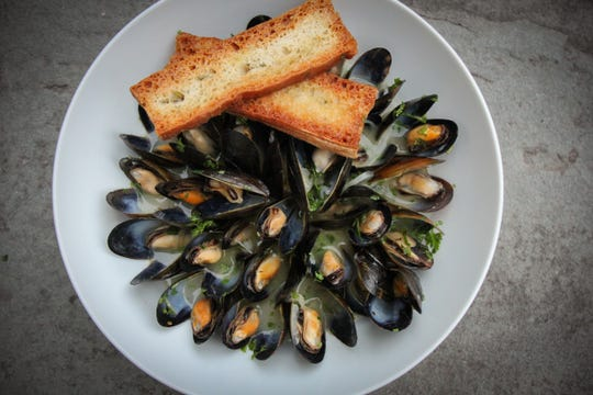 Prince Edward Island Mussels are a (Thursday night dinner special during the winter at Butterfield.