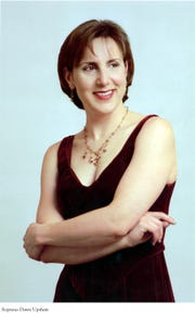 Soprano Dawn Upshaw will perform at the Richard B. Fisher Center for the Performing Arts at Bard College March 9.