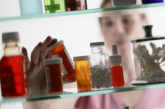 A person looking at a home for sale could quickly snatch a prescription pill bottle from a medicine cabinet, if agents and sellers do nothing to prevent it.