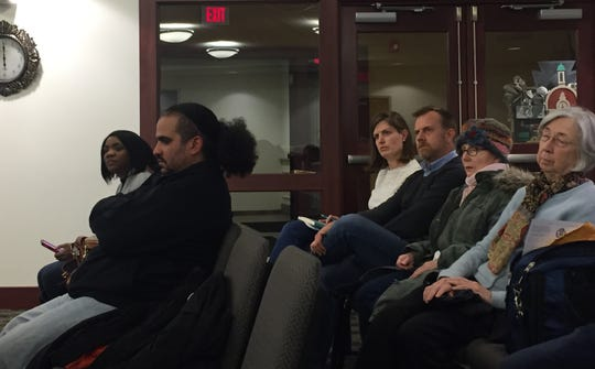 Several residents spoke out in objection to a liquor license transfer to create a nightclub at 1 N. George St. at a Tuesday, March 5 York City Council meeting (Photo by Rebecca Klar).