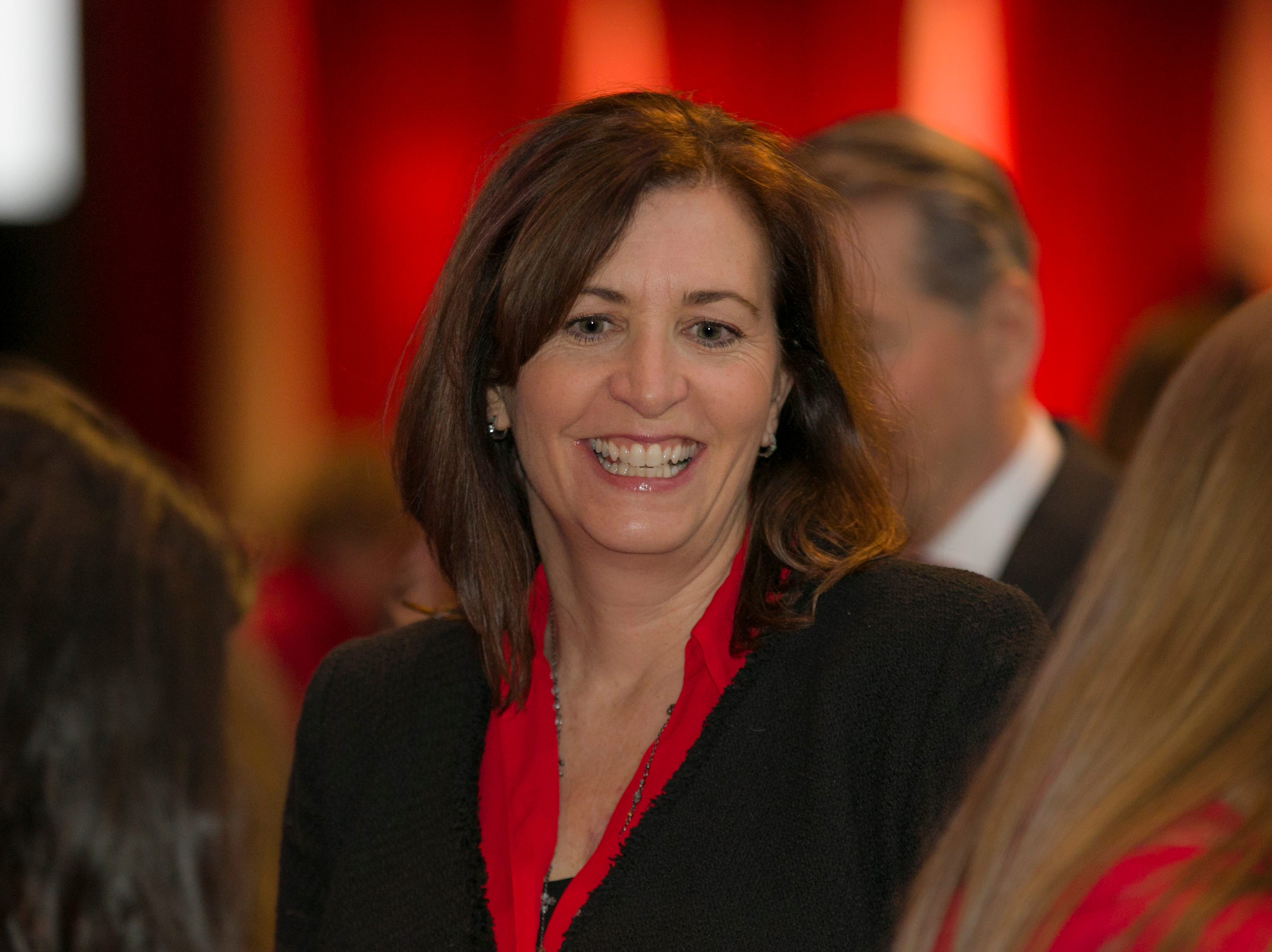 A photograph taken during the 15th Annual Go Red for Women Luncheon on Friday night,March 1, 2019 held at the downtown Reno Ballroom.