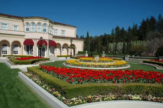 The Villa Fiore at Ferrari-Carano Vineyards and Winery in Sonoma County's Dry Creek Valley.