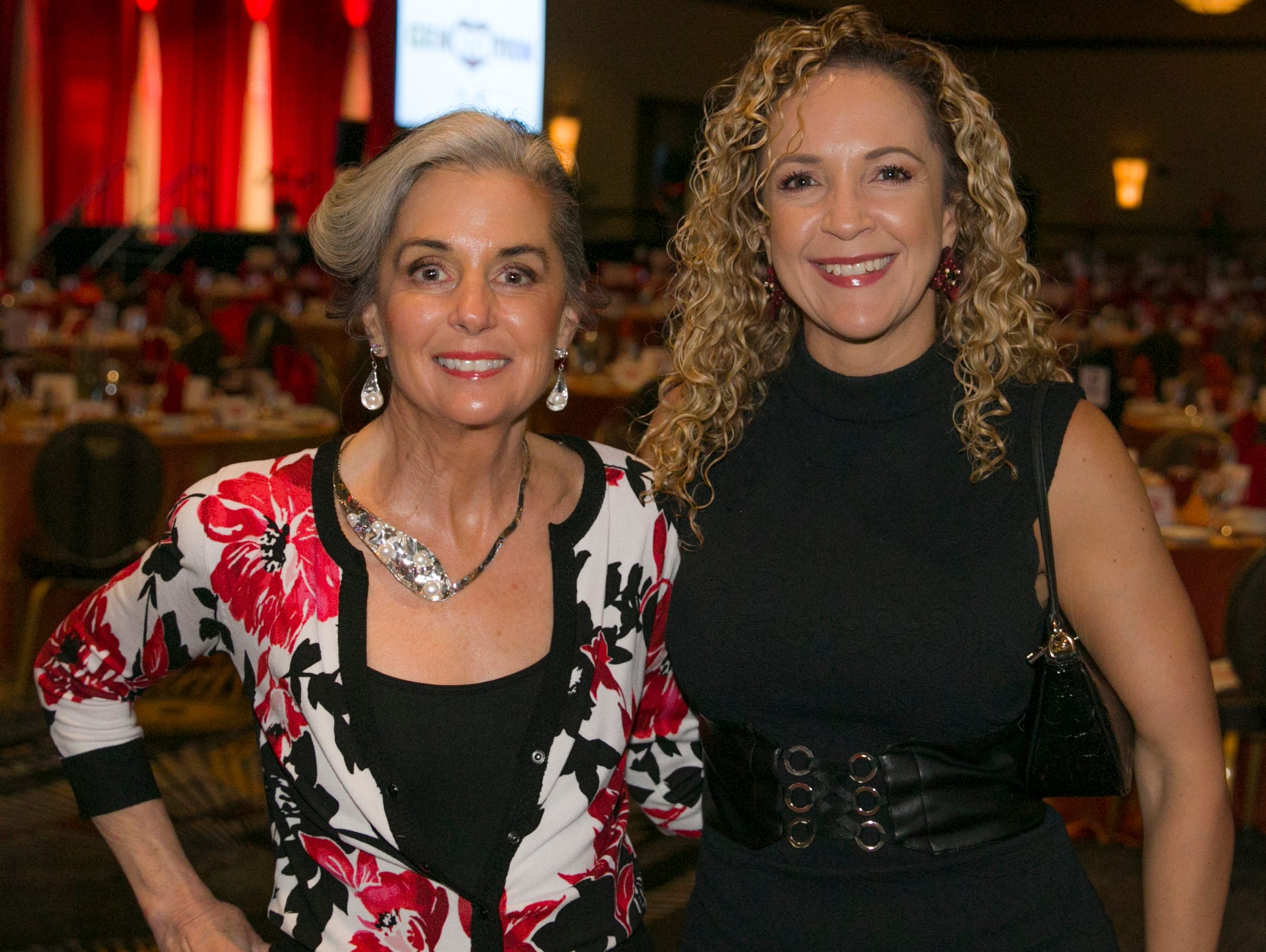 Gail and Diana Sande during the 15th Annual Go Red for Women Luncheon on Friday night,March 1, 2019 held at the downtown Reno Ballroom.