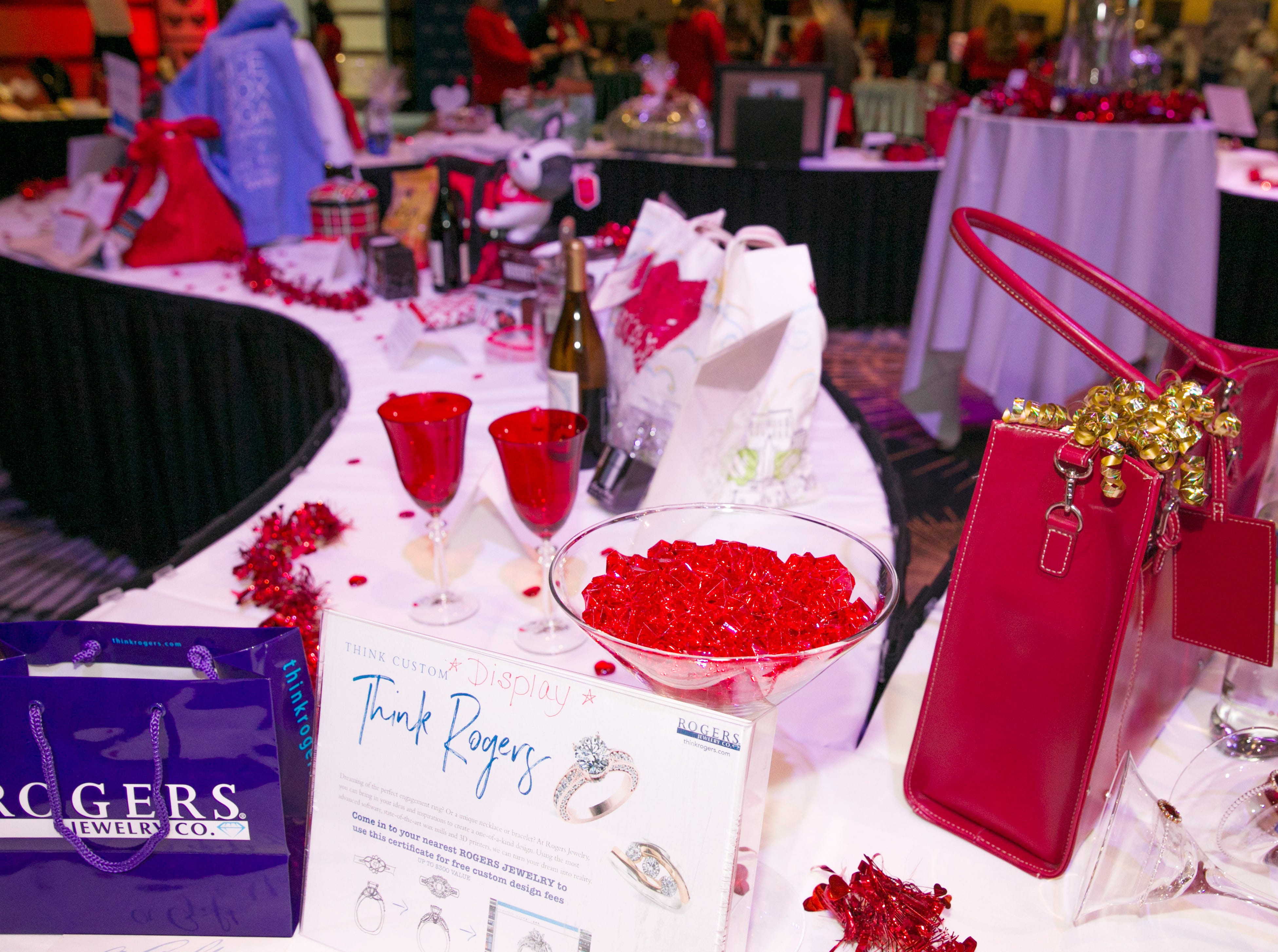 A photograph taken during the 15th Annual Go Red for Women Luncheon on Friday, March 1, 2019 held at the downtown Reno Ballroom.