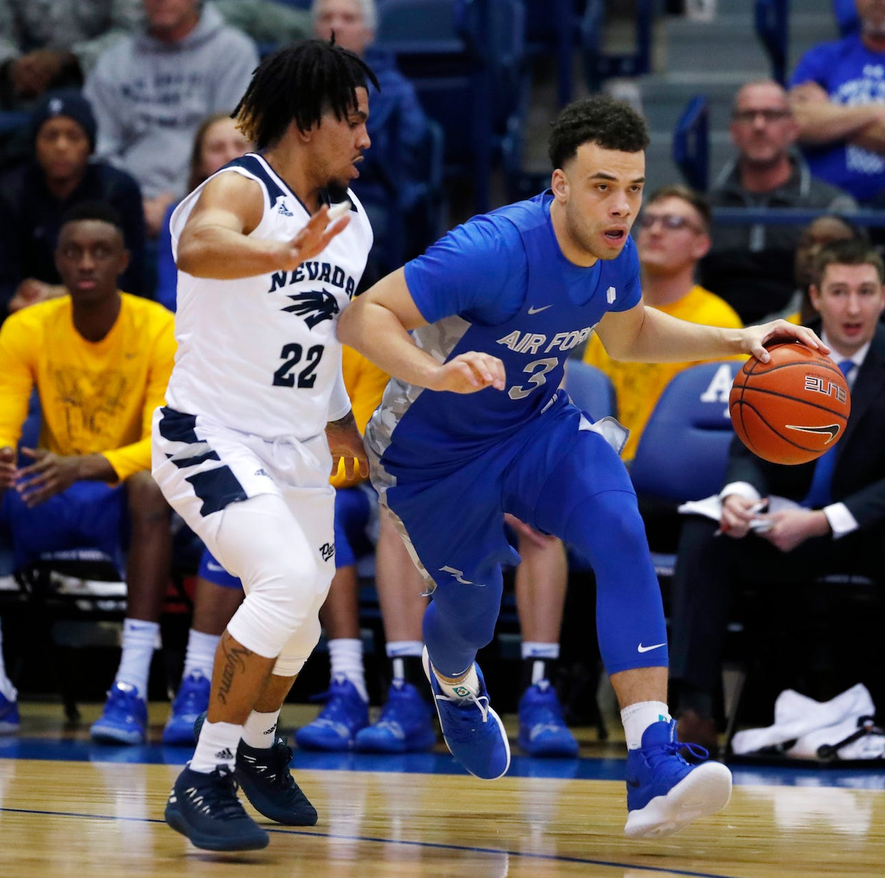 Nevada 90, Air Force 79: Pack too much for Air Force, and all that Jazz