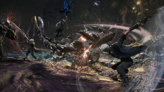 Devil May Cry 5 for PC, PS4 and Xbox One.