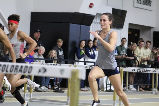 Nevada sophomore Nicola Ader qualified for the NCAA Indoor Championships in the high jump.