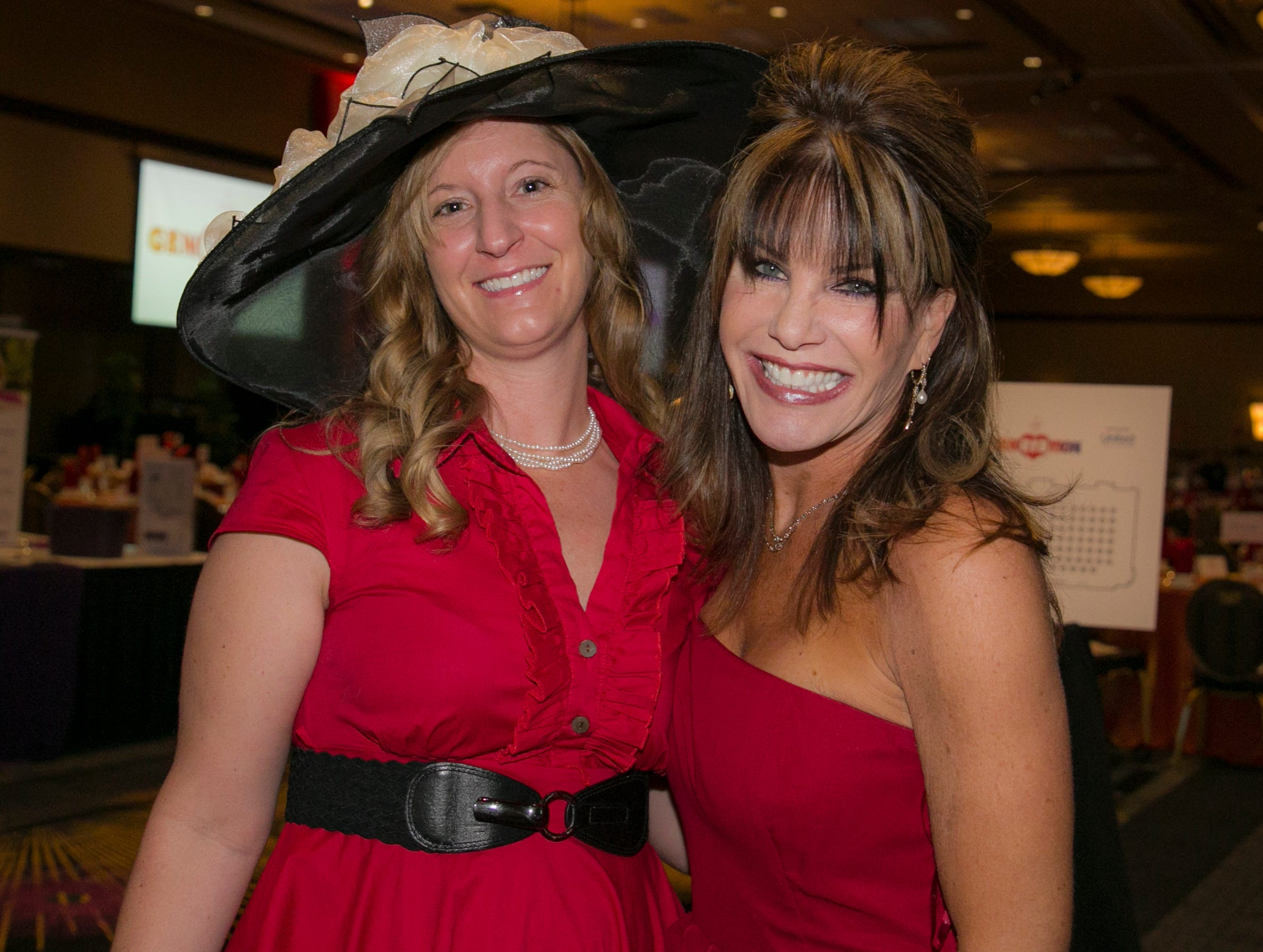 Dr. Molly Torvinen and Leslie Billow during the 15th Annual Go Red for Women Luncheon on Friday,March 1, 2019 held at the downtown Reno Ballroom.