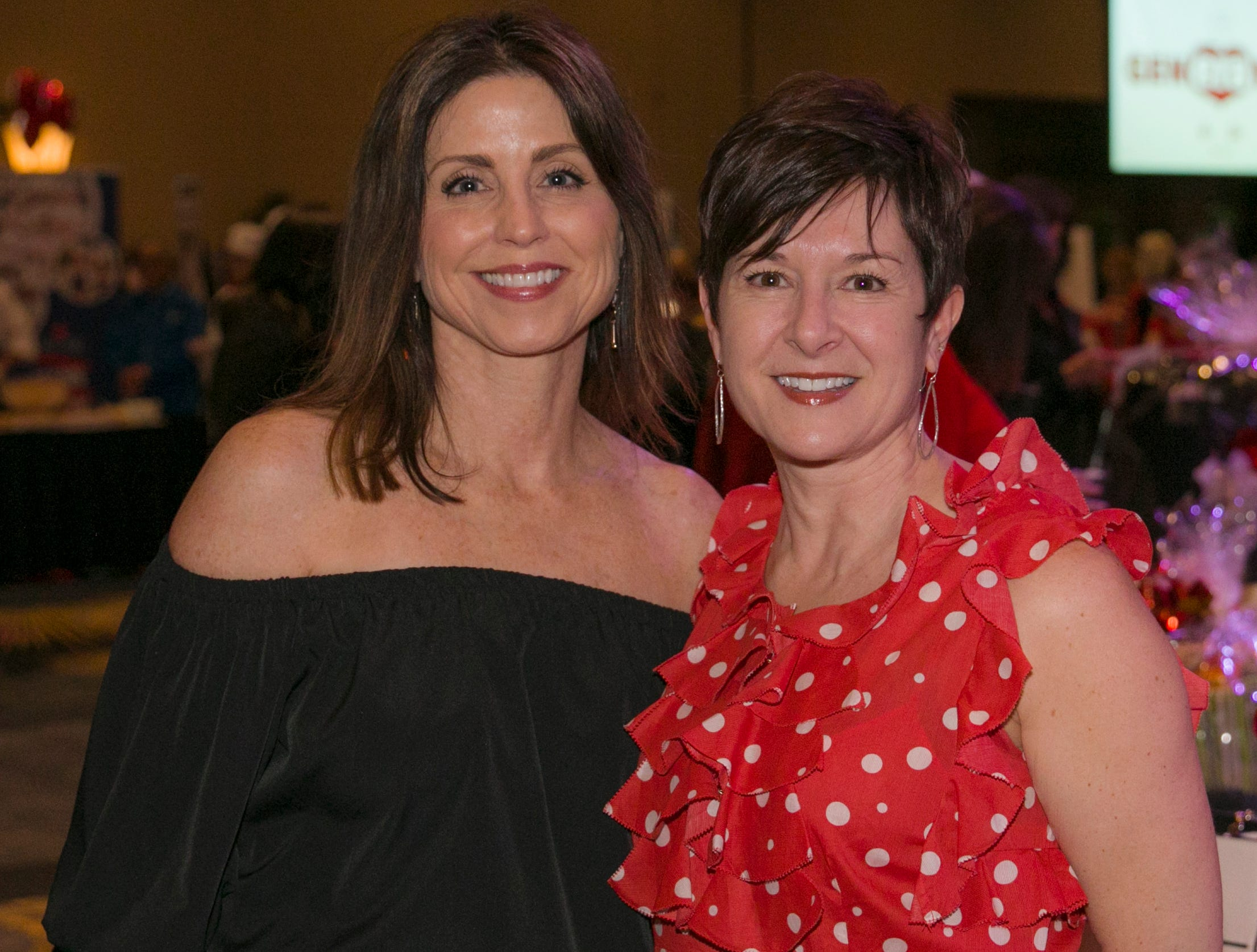 A photograph taken during the 15th Annual Go Red for Women Luncheon on Friday March 1, 2019 held at the downtown Reno Ballroom.