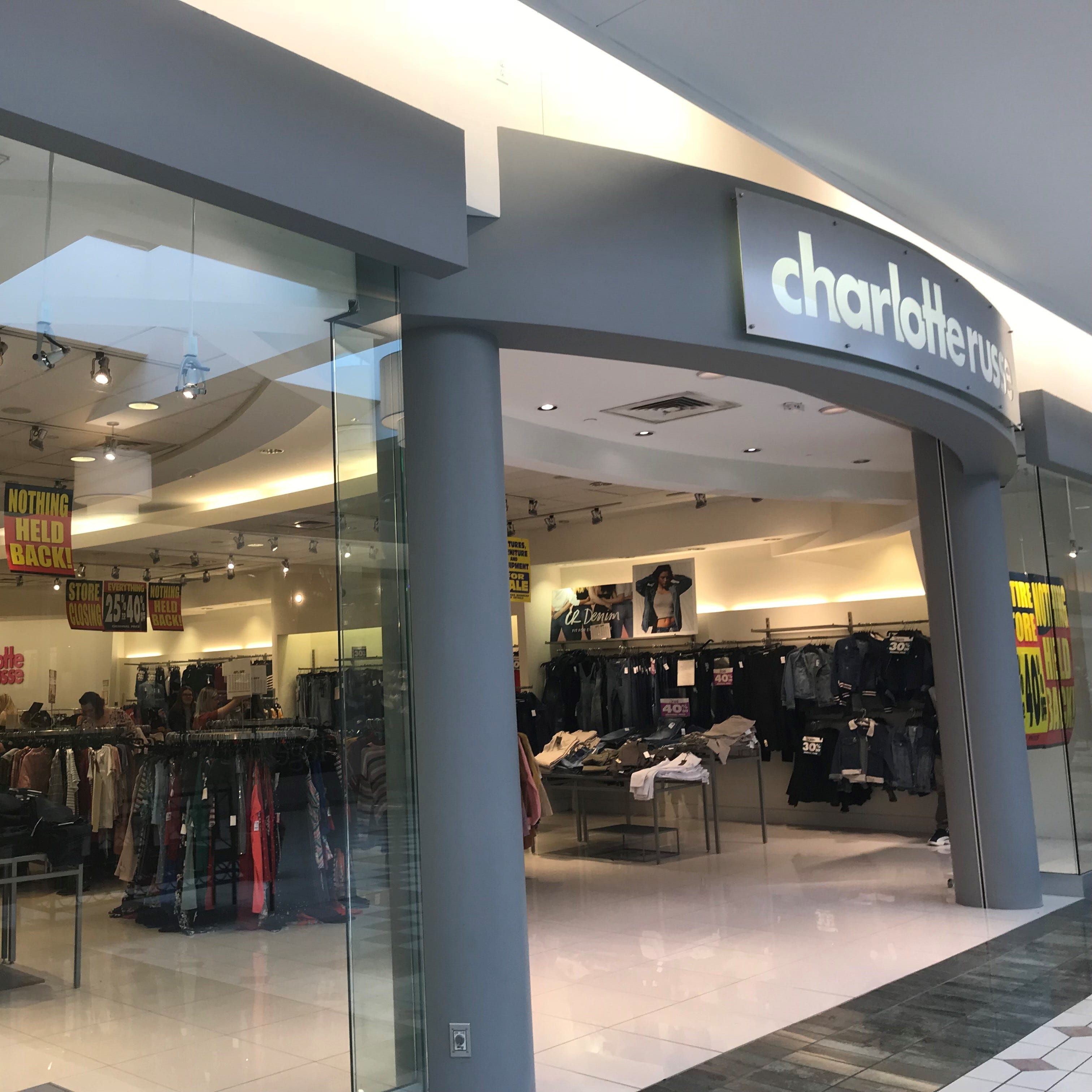 What's at the closing sales at Eastview Mall stores?