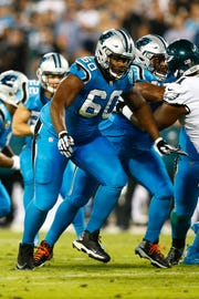 Daryl Williams missed all but one of Carolina's games last year due to a knee injury.