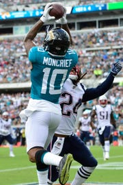 Donte Moncrief has 200 career receptions in the NFL.