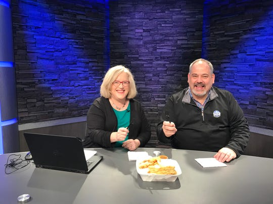 Tracy Schuhmacher and Steve Bradley discussed fish fries in the D&C Digital Studio, and then shared a fish fry.