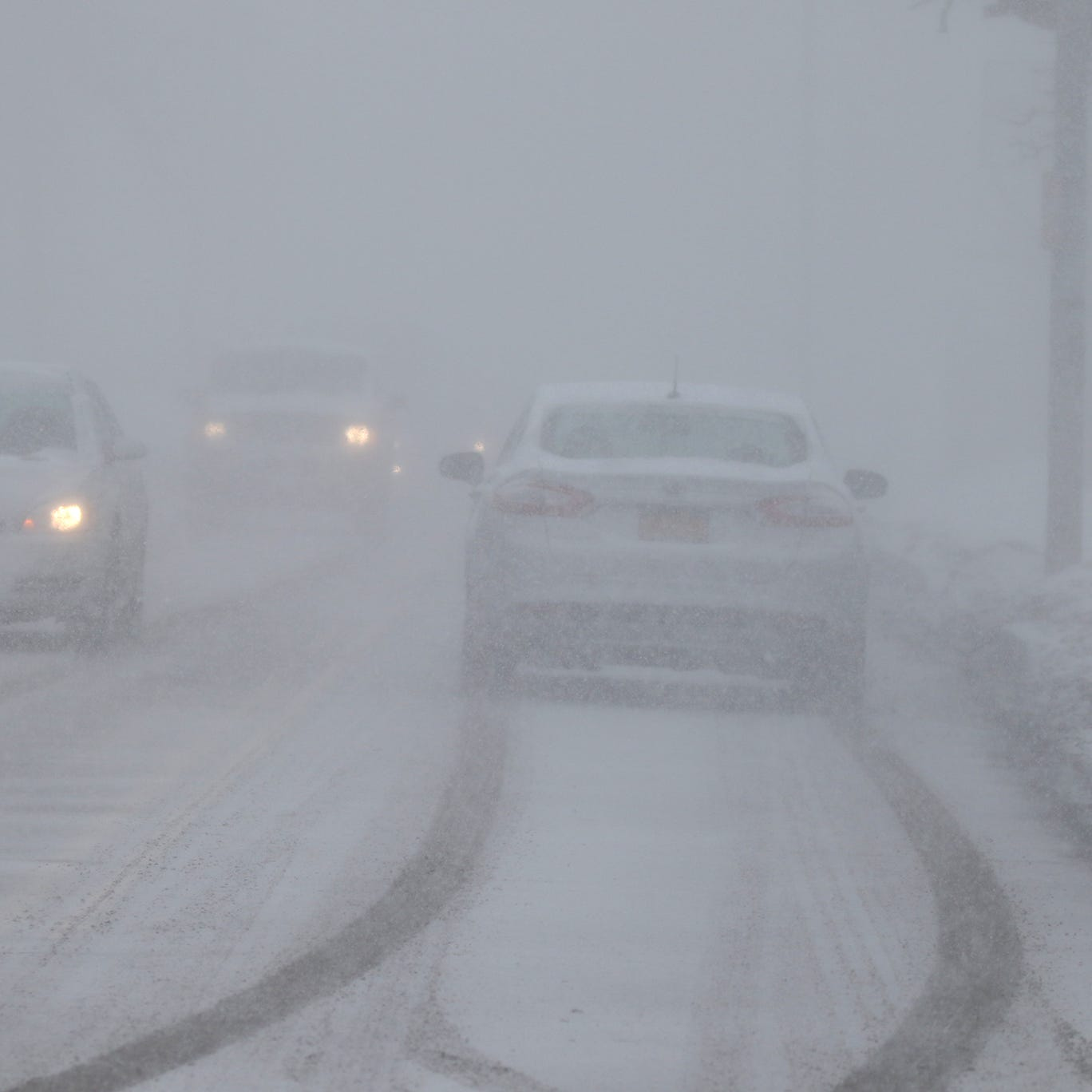 Heavy snow in some areas of Monroe County prompts weather alert