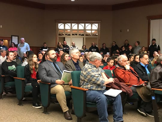 Soccer park supporters came out in force to the Redding City Council meeting on Tuesday, March 5, 2019. The council approved $5.1 million to install new turf for the soccer park.