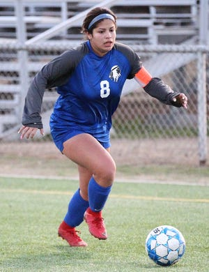 San Angelo Lake View High School senior forward Ariana Rangel was named the MVP of the 2020 All-District 4-4A Girls Soccer Team.
