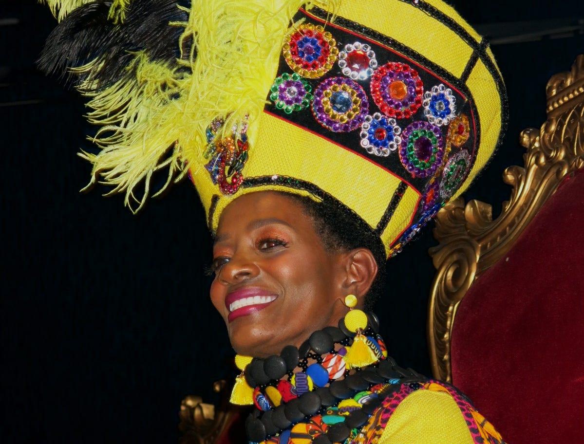 "Krewe Harambee Saada Maskhara Bal XIX ""Harambee Goes to Wakanda"" was March 1 at Harrah's Riverdome."