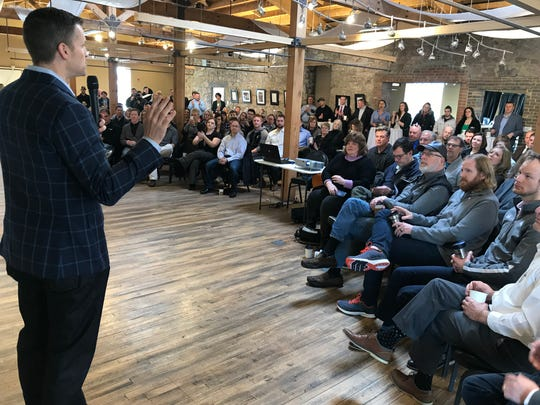 Sioux Falls Mayor Paul TenHaken declared Wednesday to be Entrepreneurship Day at the five-year anniversary event for 1 Million Cups.