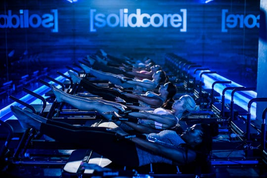 A promotional image from Solidcore.