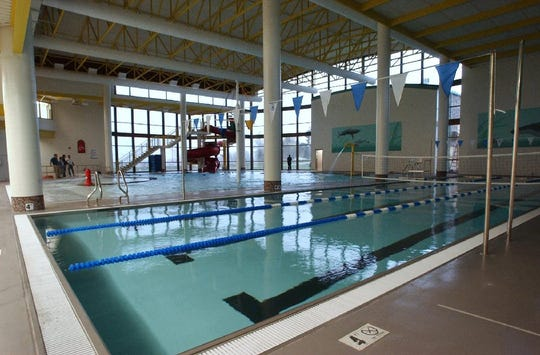 The Chesterfield Family Center pools closed twice in February.