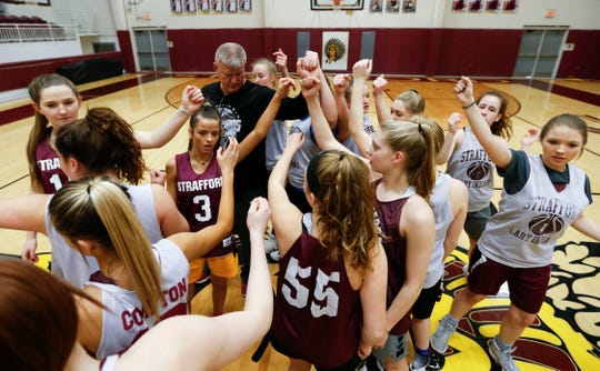 The Strafford Lady Indians will enter Thursday night's semifinals game at JQH Arena as the three-time consecutive winners of the Class 3 state basketball tournament.