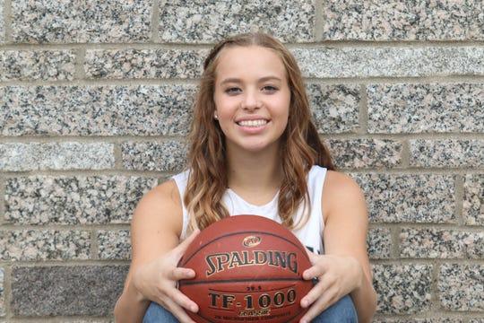 Emma Schultz, Eden Valley-Watkins girls basketball team