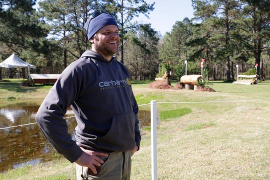 Levi Ryckewaert, equestrian cross-country course builder, talks about what went into designing this year's course at Red Hills Tuesday, March 5, 2019.