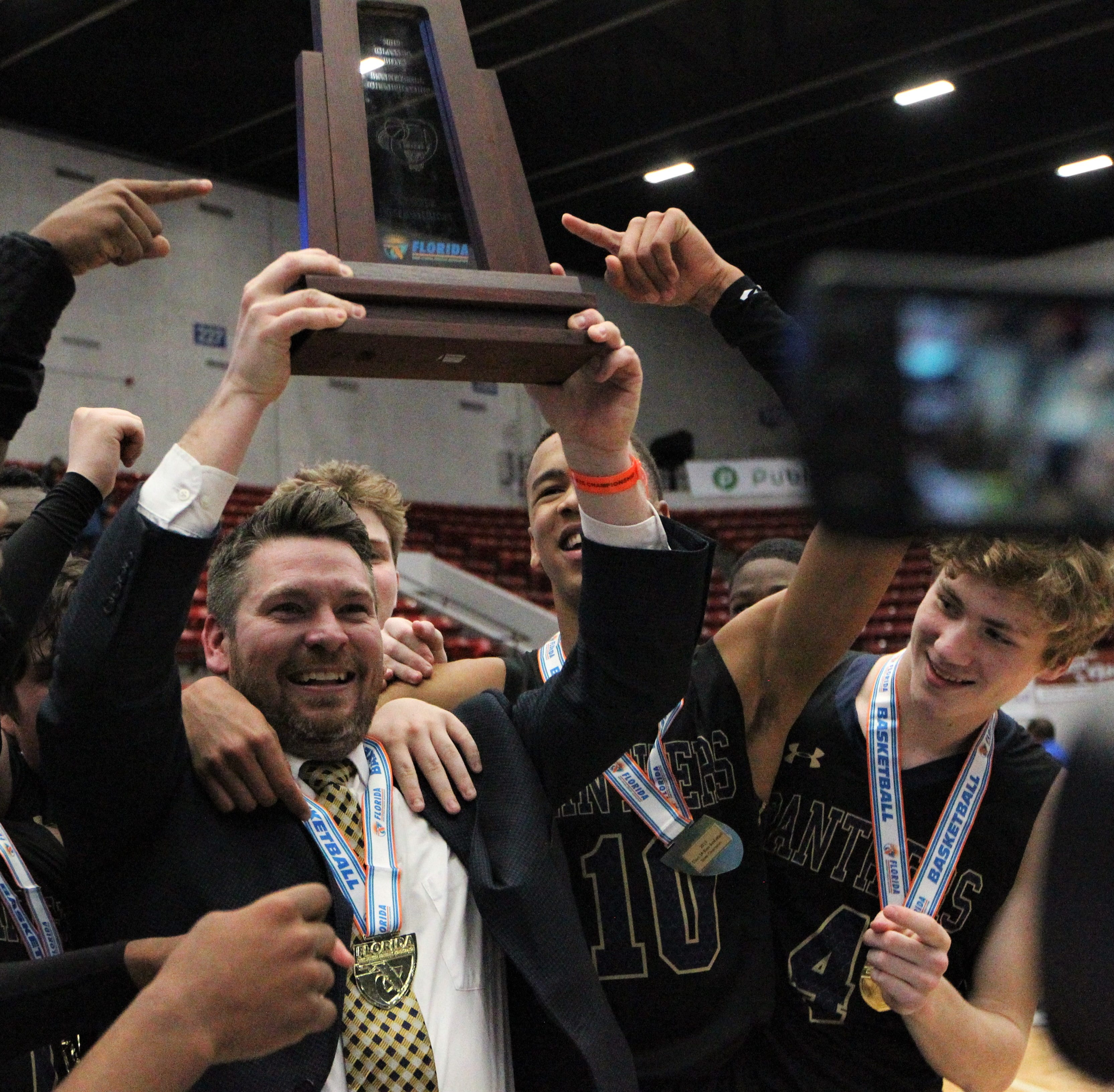 Destiny! St. John Paul II revels in first state championship, fairy-tale ending