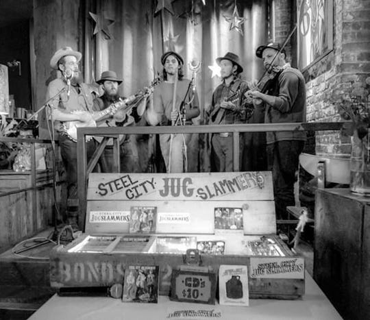 The Steel City Jug Slammers were recently inducted into the Jug Band Hall of Fame.