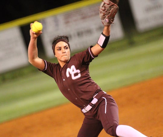 Madison County senior pitcher Reese Rutherford is off to a 3-0 start this season. In a 17-0 win over Suwannee, Rutherford threw a three-inning perfect game with all strikeouts and hit a grand slam.