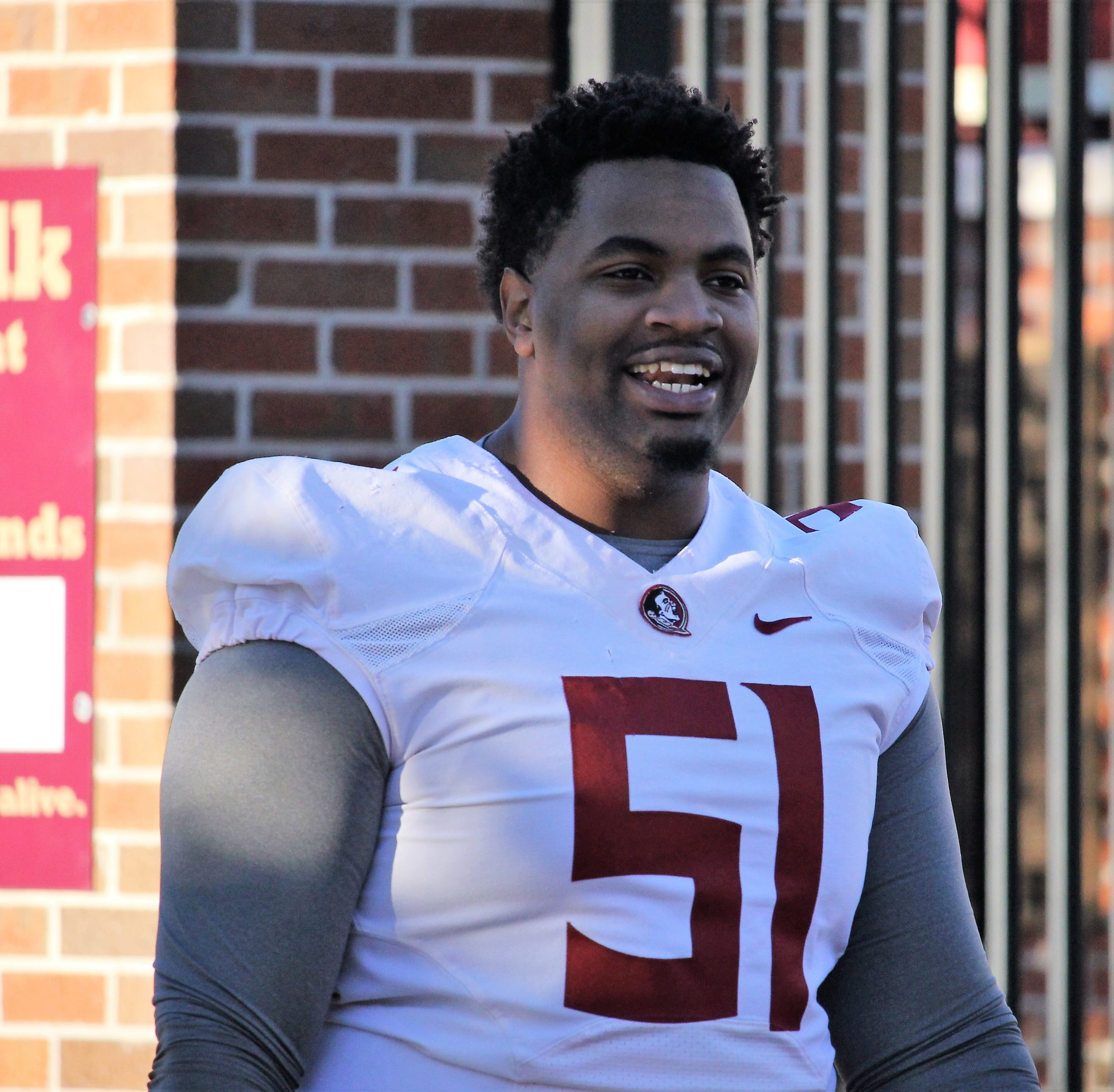 Practice Observations: Baveon Johnson stepping into big role on FSU offensive line