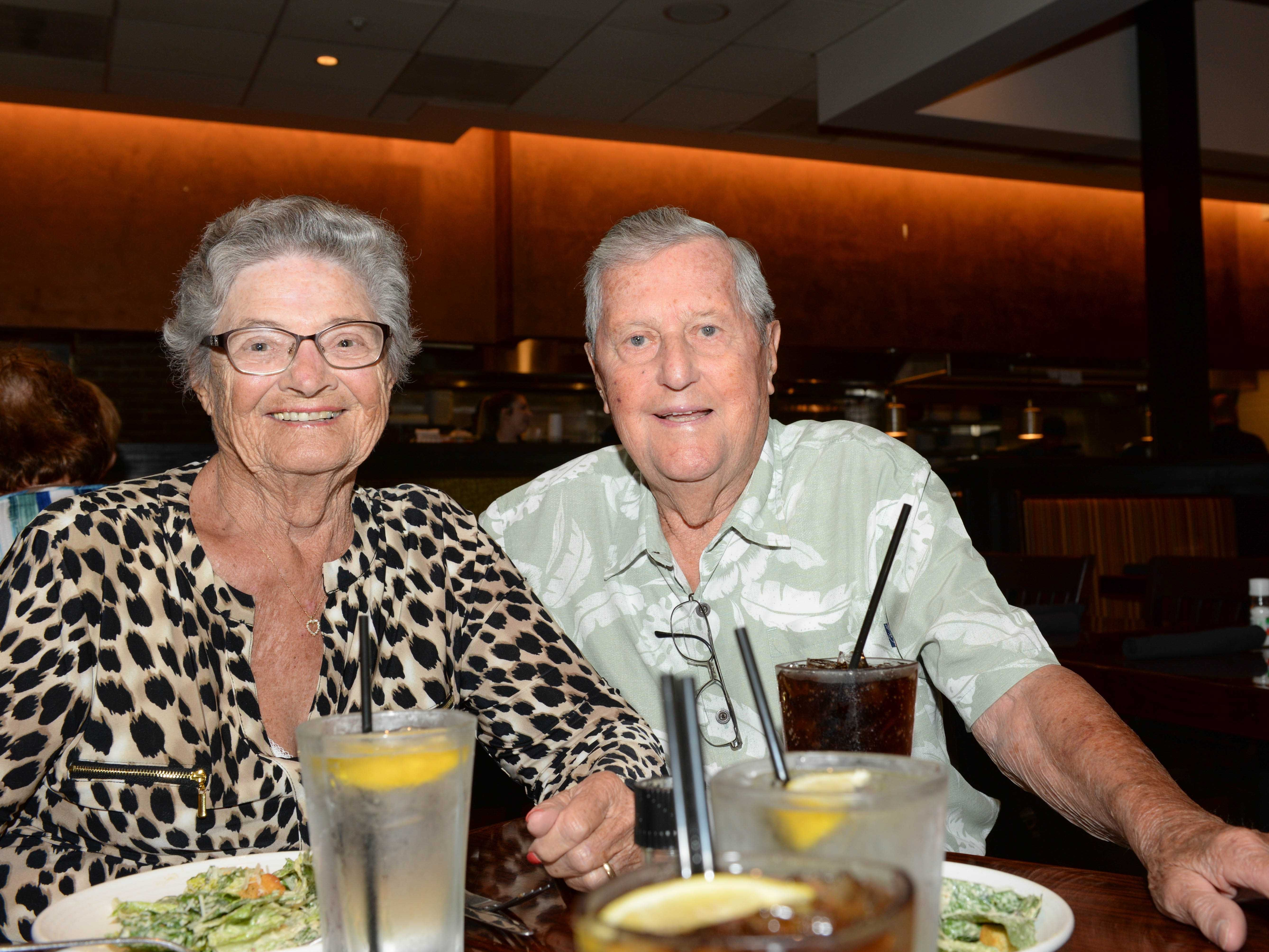 Barbara and Tony Young at Carrabba's Italian Grill in St. Lucie West.
