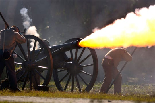 "The 19th annual ""Raid on Fort Pierce"" Civil War living history and reenactment is this weekend at the Savannas Recreation Area in Fort Pierce."