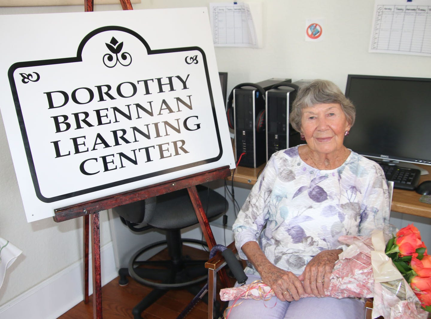 Nearly 30 years ago, Fort Pierce resident Dorothy Brennan created Learn to Read St. Lucie County, a nonprofit organization dedicated to providing free literacy services. Thousands of students later, Learn to Read honored Brennan by naming its new facility in downtown Fort Pierce the Dorothy Brennan Learning Center.