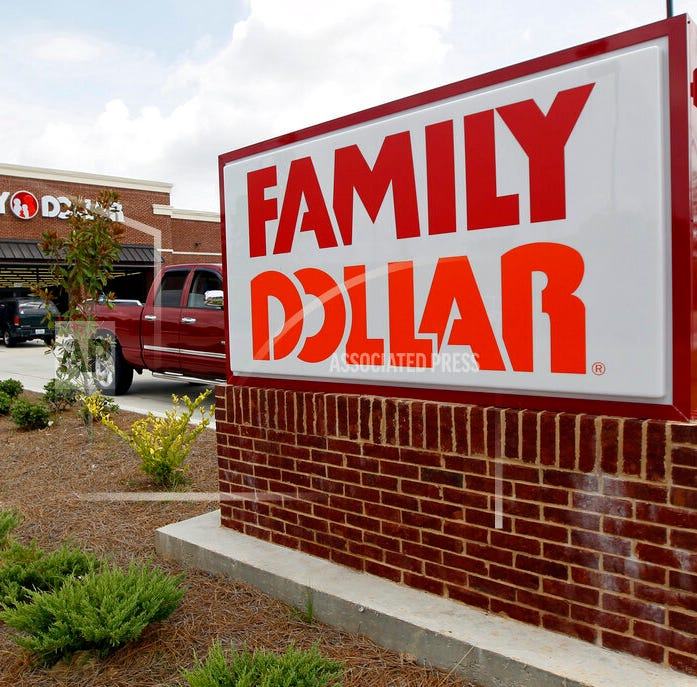 Hundreds of Family Dollar stores to close or get re-branded under Dollar Tree name