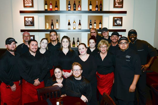 200 supporters of Sarah's Kitchen recently converged on Carrabba's Italian Grill in St. Lucie West for lunch, served by Carrabba's professional staff.