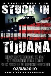 """""""Stuck in Tijuana"""" movie poster"""