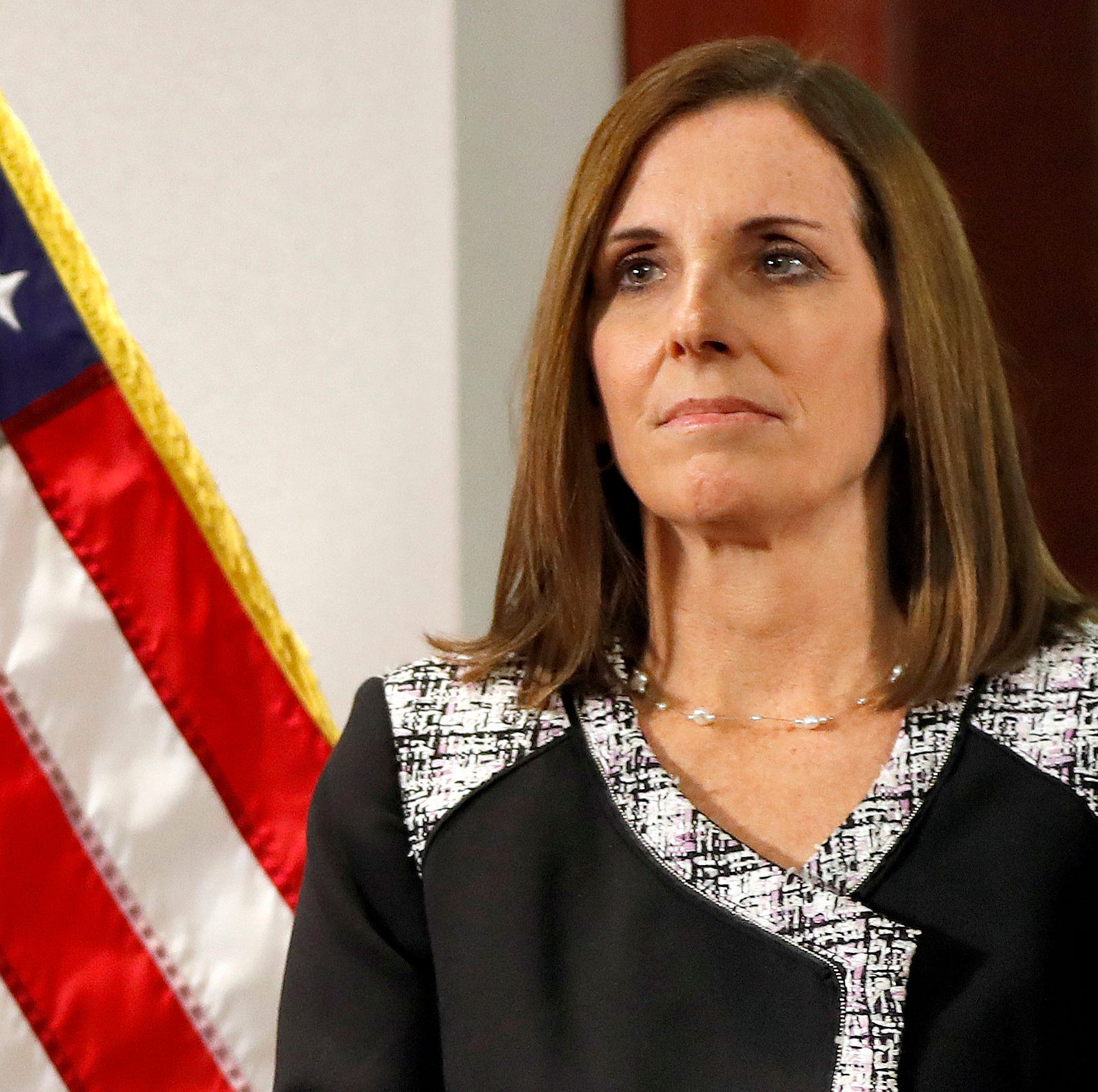 Martha McSally's support for Trump's national emergency could sink her in 2020