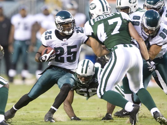Lorenzo Booker was one of the best running backs in the nation during his career at St. Bonaventure High, before playing at Florida State and in the NFL with several teams, including the Philadelphia Eagles.