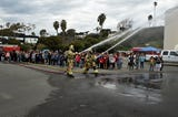 Watch as Ventura fourth-graders get a front row lesson in fire safety and prevention.