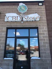 The outside of Your CBD Store in Weston, in the Weston Marketplace.