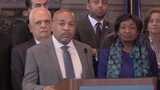 Assembly Speaker Carl Heastie, D-Bronx, said Feb. 28, 2019, there is still time to negotiate legalizing marijuana during a news conference at the state Capitol.
