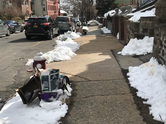 Recycling pickup delayed in Mount Vernon due to unsafe DPW vehicles.