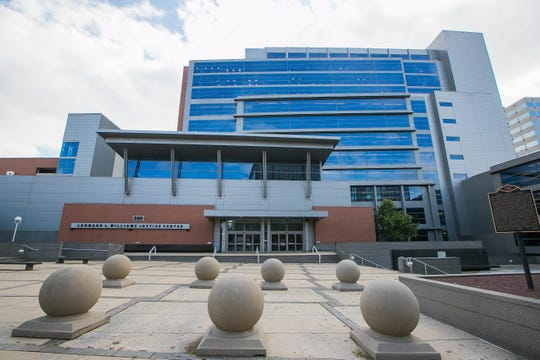 The Leonard L. Williams Justice Center on N. King Street in Wilmington, built in 2002, is significantly larger and has larger, more secure features than downstate family court facilities, officials have said.