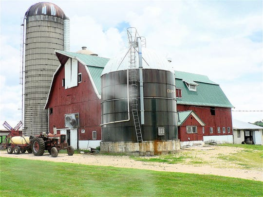 "The red barn is much loved by consumers who see it as ""a family farm"" but its numbers are shrinking as farmers need larger, more modern barns."