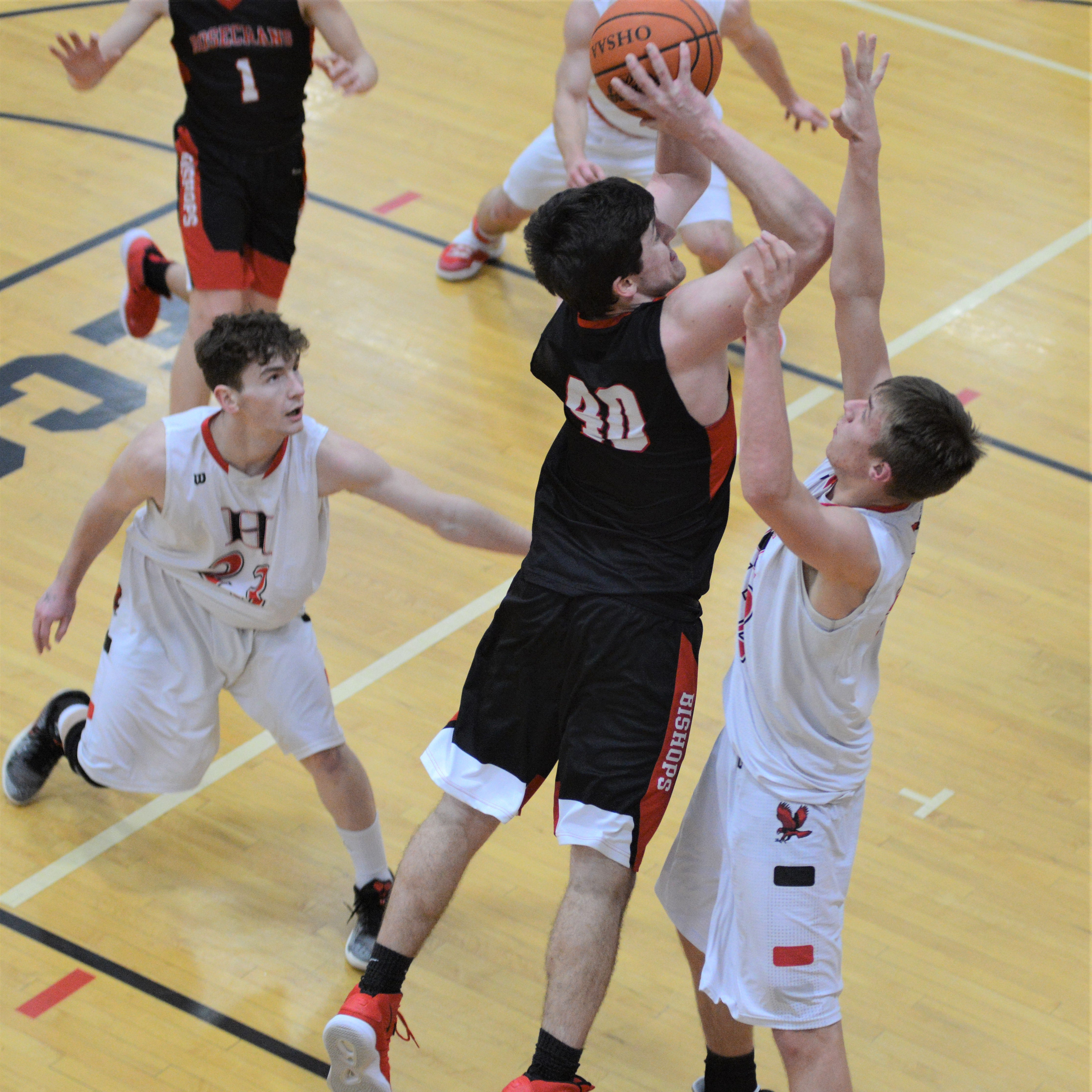 Rough start dooms Rosecrans in loss to Hiland