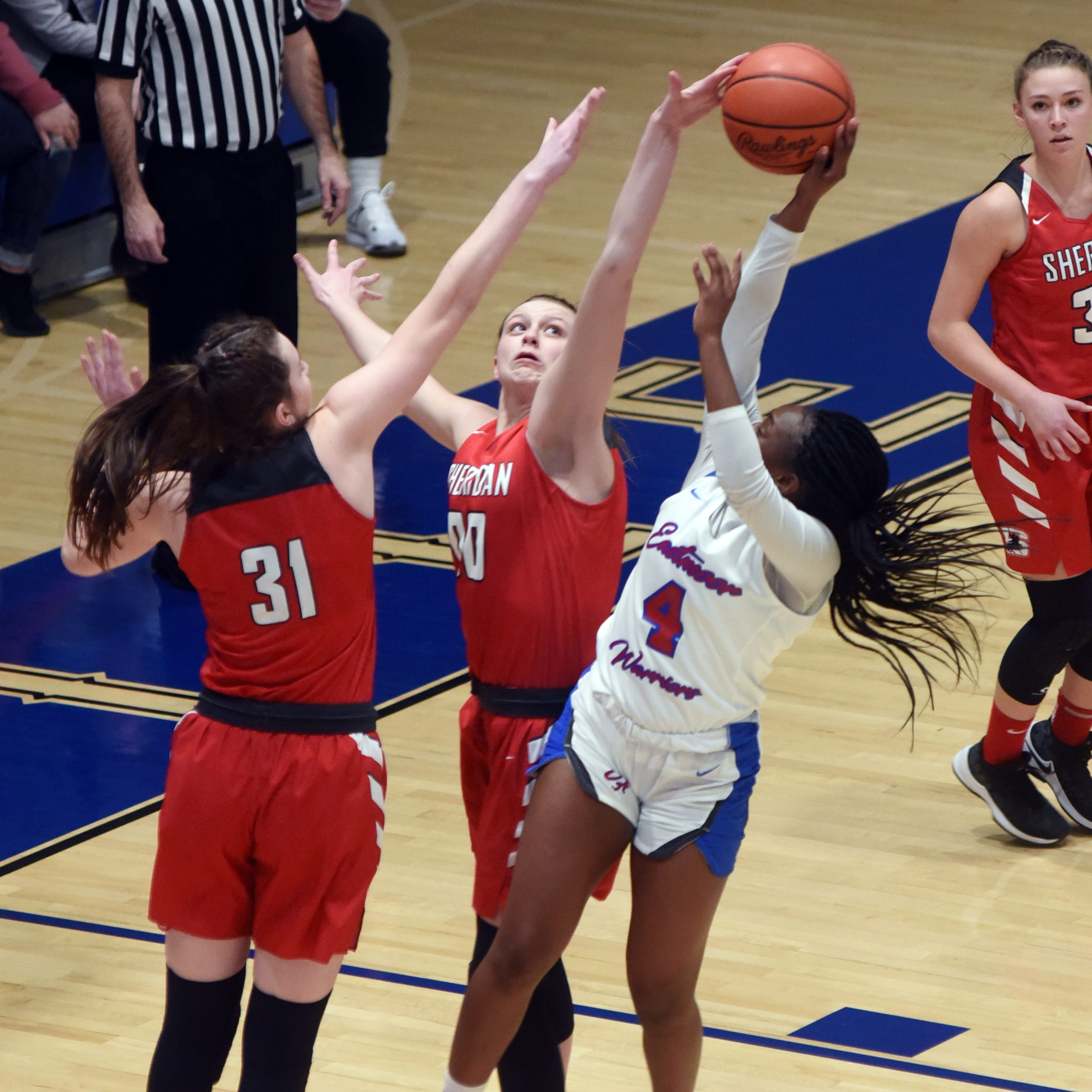 Sheridan marches into Elite 8, familiar foe awaits