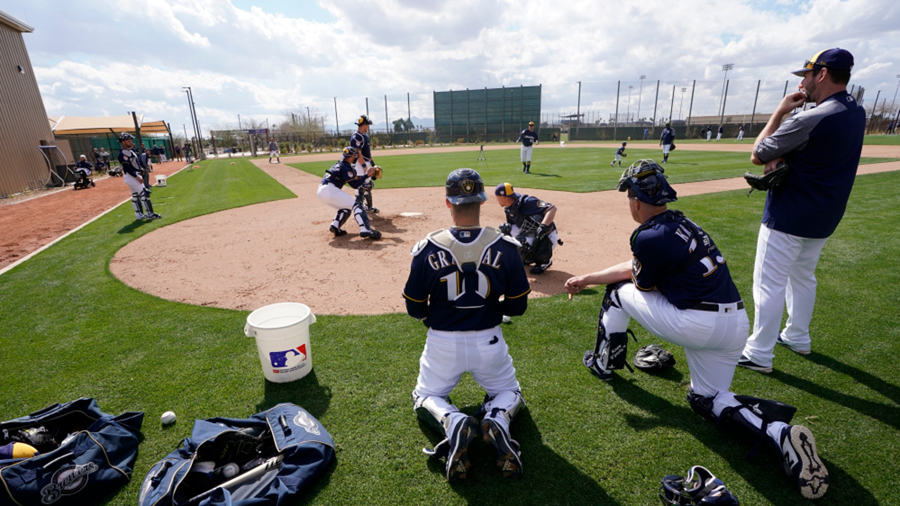 cb61e61dfd0cb MLB spring training  Teams need catchers. But they don t want to pay